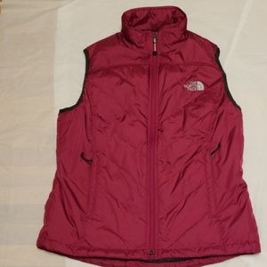 The North Face women vest jacket size Large